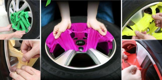 Жидкая резина в баллончике 400мл. резиновая краска на диски авто мото