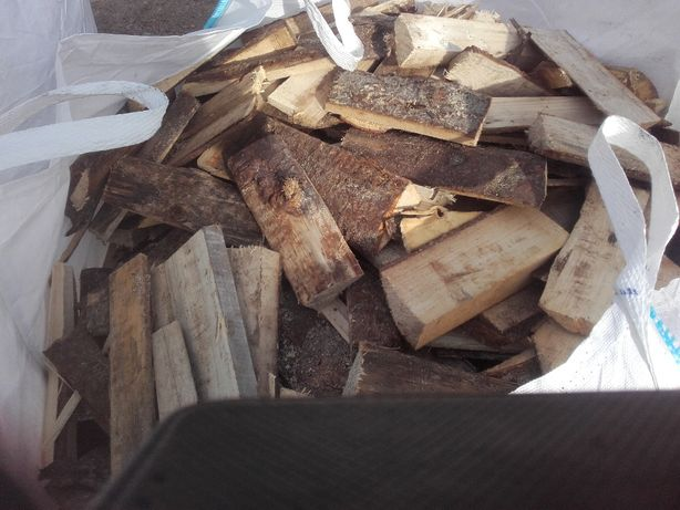 Drewno Tani Opał zrzyny tartaczne
