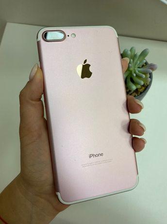 Apple iPhone 7 Plus 128GB Rose Gold. Neverlock. Б/у