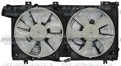 Радиатор охлаждения кондиционера вентилятор диффузор Subaru USA