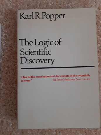 """Karl Popper, """"The Logic of Scientific Discovery"""""""