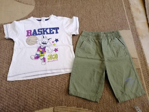 Костюм летний шорты и футболка