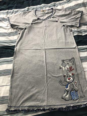 Koszula ciążowa piżama   L 40