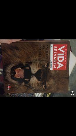 Livro Enciclopédia Vida Selvagem Larousse Atalaya Animais da Savana I