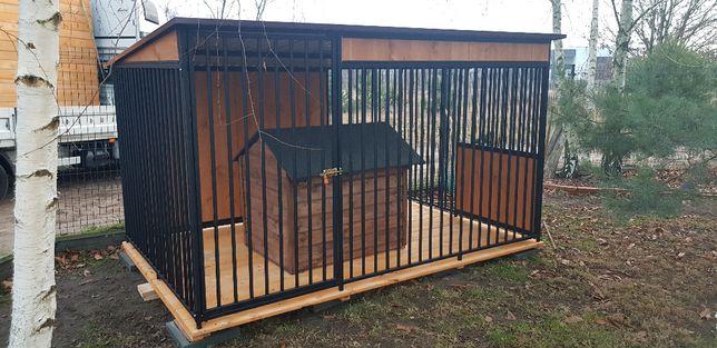 Kojec dla psa 2x2m, boks, zagroda, klatka. Schowki drewniane i inne..