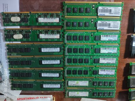Оперативная память, ОЗУ, PC, DDR 1-2-3