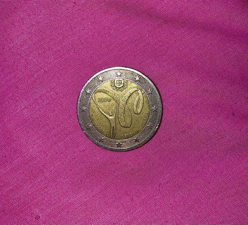 Moeda 2€ 2009 jogos lusofonia lisboa