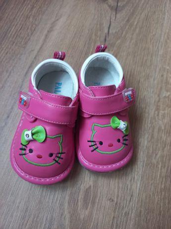 Кросівки-туфельки рожеві 16 розмір