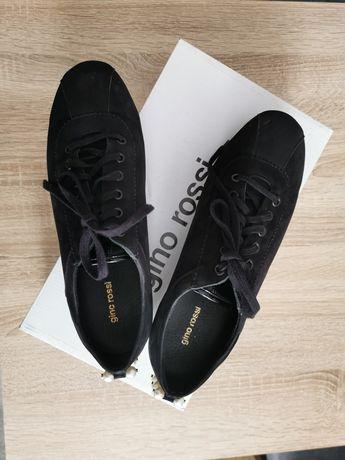 Buty sneakersy Gino Rossi czarne. Rozmiar 39