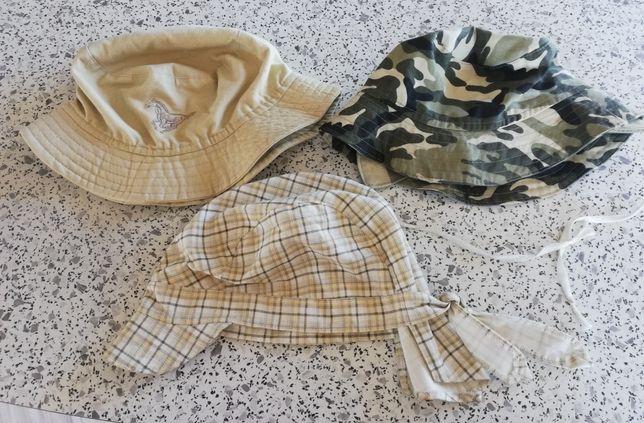 Czapki i kapelusze letnie dla chłopca