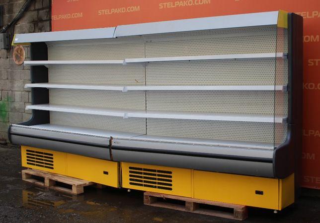 Холодильный регал «Росс Modena» линия 3.8 м. (Украина), Б/у 69229