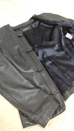 Натуральная кожаная куртка демисезонная