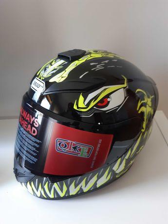 Capacete Moto Rading GoolRC Verde Tamanho M (NOVO)