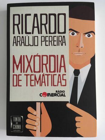 Mixórdia de Temáticas de Ricardo Araújo Pereira (como novo)