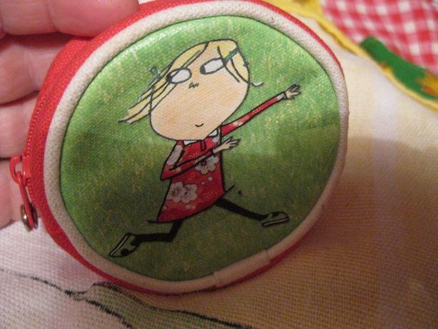 детская косметичка кошелек мультик сумка ЛОЛА чарли Charlie and Lola