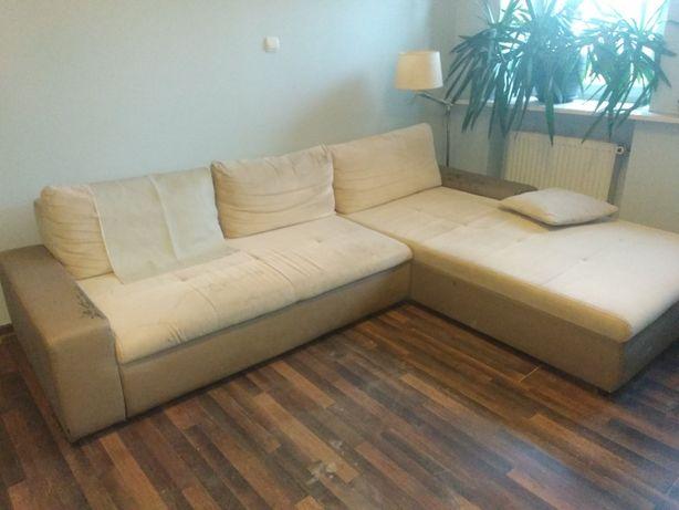 kanapa rozkładana narożna, narożnik 310 cm x 215 cm