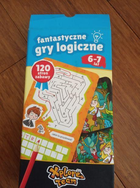 Sprzedam grę edukacyjną Fantastyczne gry logiczne dla dzieci 6-7 lat