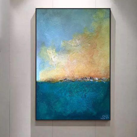Tela 70x100cm abstracta