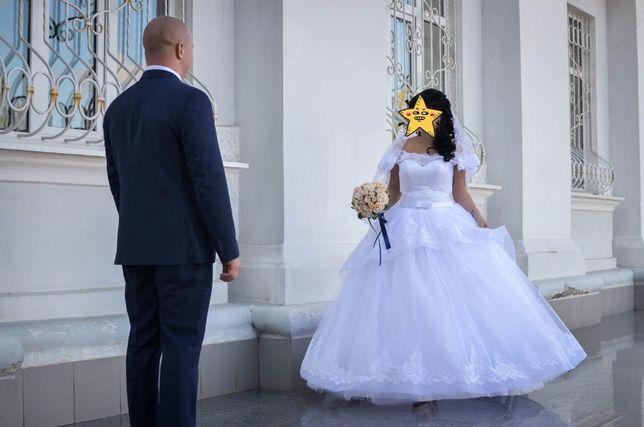 Свадебное платье,туфли