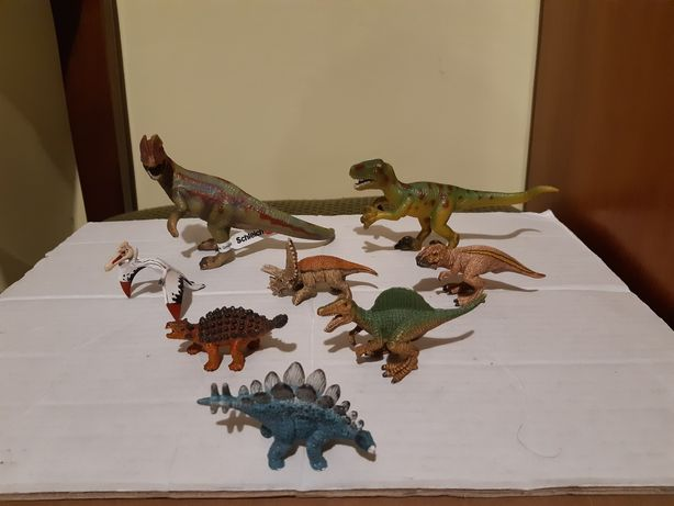 Schleich dinozaury różne modele