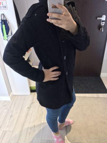 Płaszcz wełniany wool blend rozmiar S