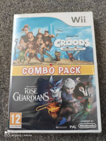 Gra Nintendo WII The Croods Prehistoric Party + Rise of the Guardians