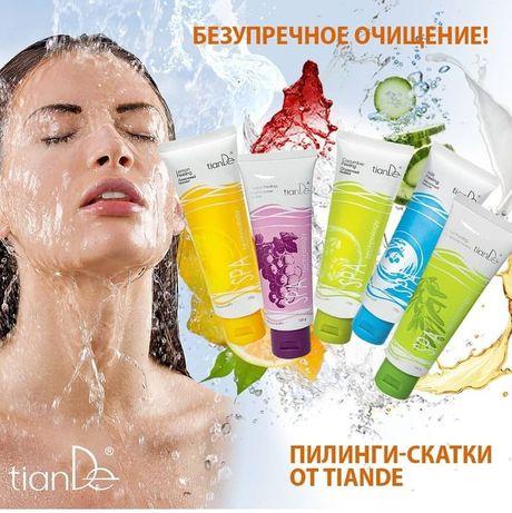 Пилинг скатка для лица ТианДе на фруктовых кислотах