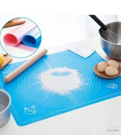 Силіконовий коврик для тіста великий коврик для теста