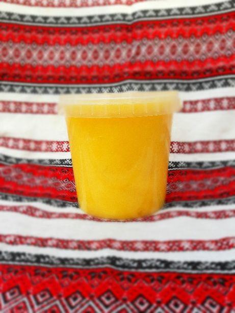Мед натуральний соняшник+різнотрав'я+гречка