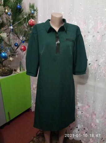 Распродажа. Новое платье-рубашка! Размер 50