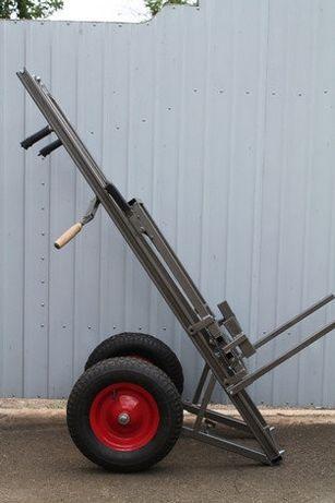 Апилифт М 1 — пасечная тележка-подъемник, усиленные колёса с подкачкой