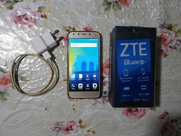 Смартфон, мобильный телефон ZTE BLADE A6 LITE (комплектный и рабочий)