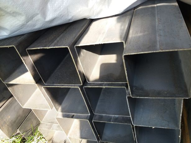 Profil stalowy 80x80x2mm Słup do bramy wiata garaż konstrukcja brama