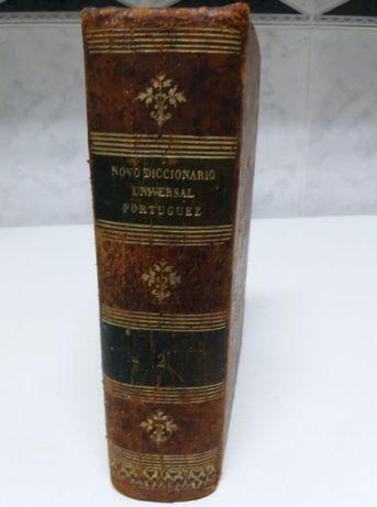 Novo Diccionario Universal Portuguez (vol.II) - de 1891