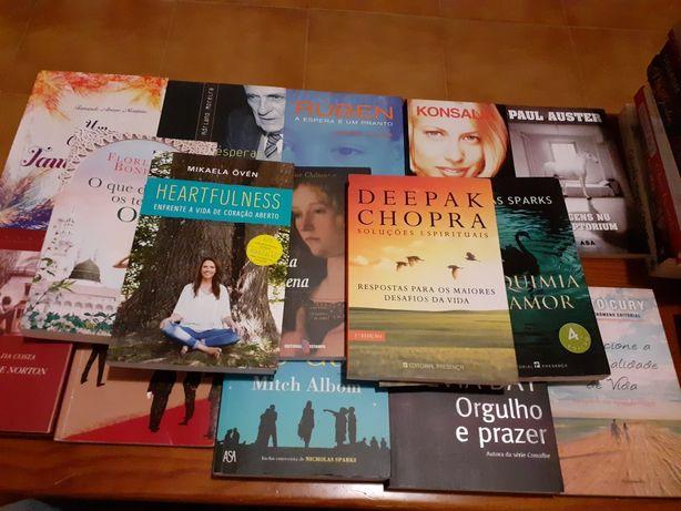 Vários Livros 5€ cada