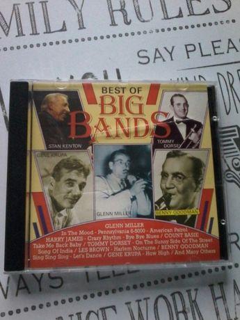 Płyta CD orkiedtra Glen Miller i goście super jazz, oldschoolowa
