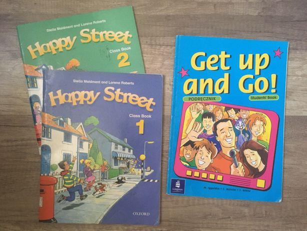 Podręczniki angielski podstawówka Happy Street 1 i 2, Get up and Go!