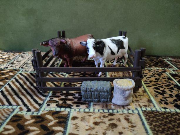 Животные в вальере, игровой набор ферма
