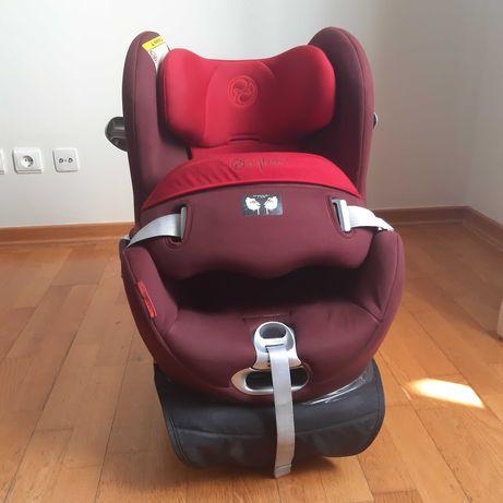 Cadeira-auto Cibex Sirona com base isofix em ótimo estado