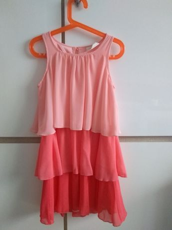 H&M sukienka letnia r. 134