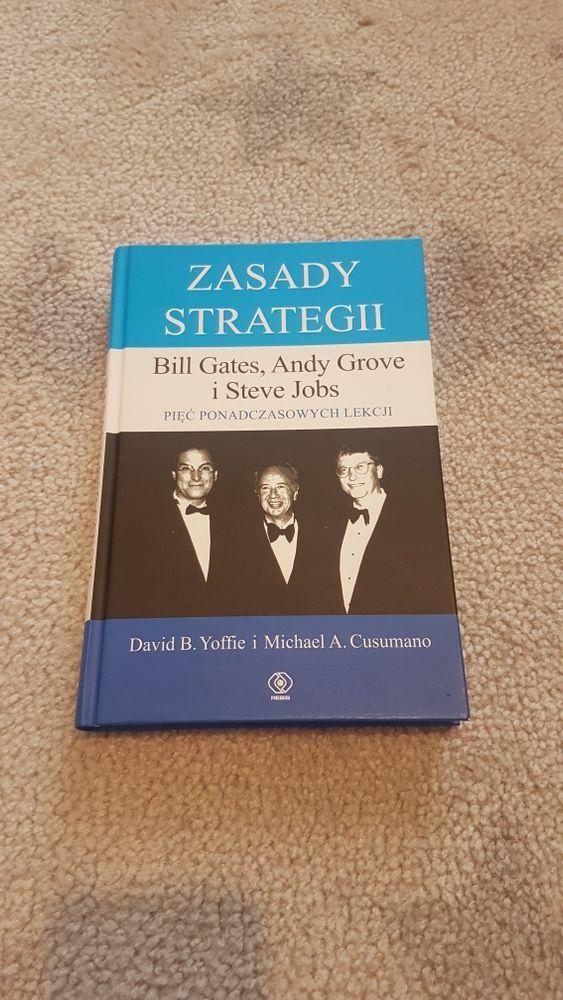 "Książka ""Zasady strategii. Bill Gates, Andy Grove i Steve Jobs"" Yoffi Poznań - image 1"