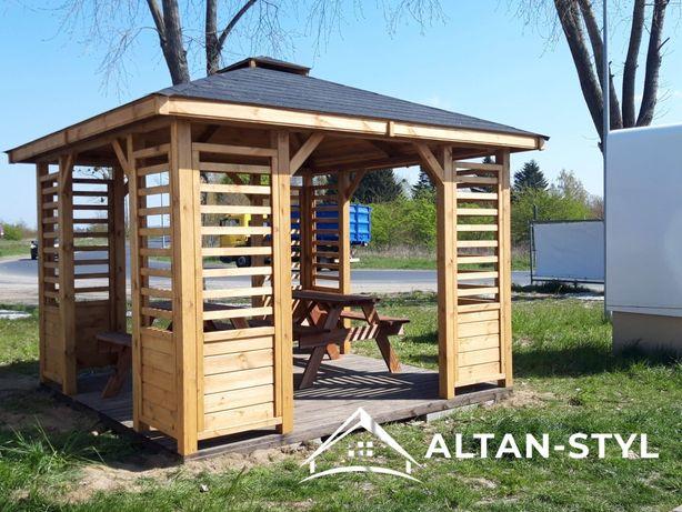 Altany, altanki, wiaty, altana ogrodowa ANIA 3x3m PRODUCENT