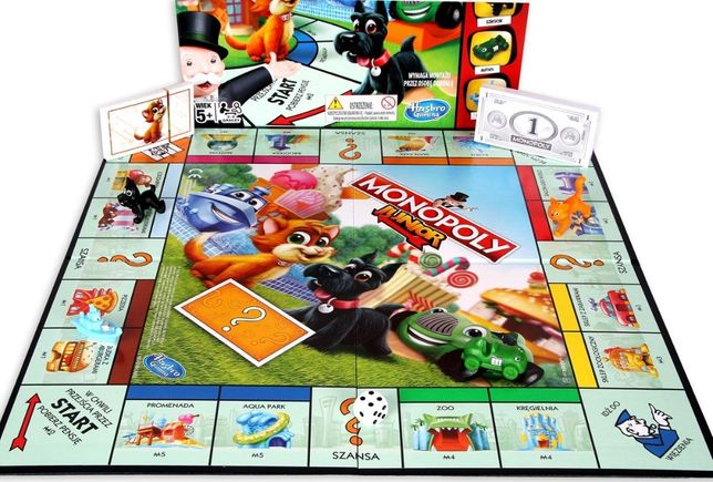 Hasbro Gaming, Monopoly- Junior+ Puzzle Spider Man