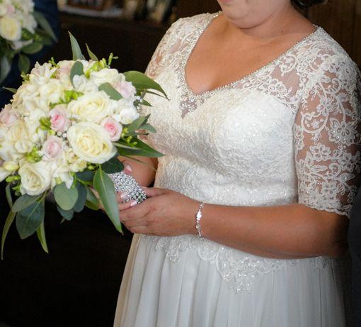 Suknia ślubna 46