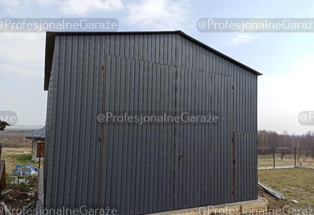 Hala Wiata Duży garaż Hala blaszana 6x8 wysoka