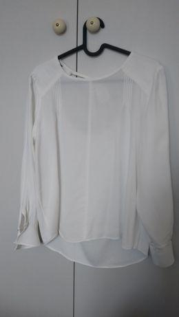Koszula bluzka ZARA L biała śmietana