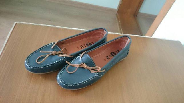 Новые кожанные туфли Vexed из Испании,40 размер