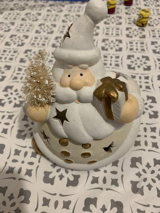 Świecznik św Mikołaj + 100 świeczek GRATIS Koszalin - image 1