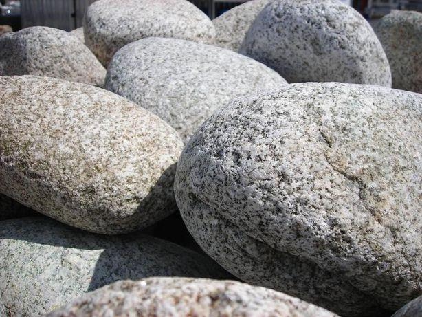 Otoczaki Górskie granitowe z Dunajca kamienie grys gres granitowy kora
