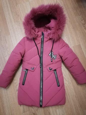 Зимняя куртка для девочки, р. 104